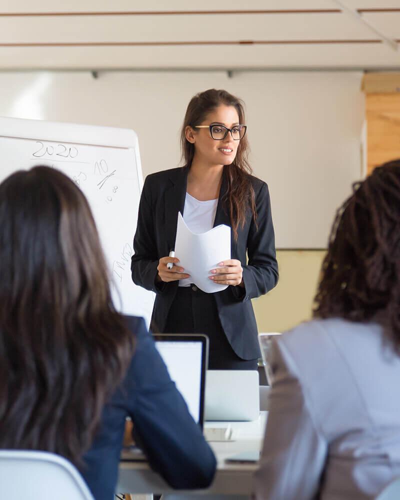 Service de coaching en développement professionnel